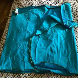 Pretty Blue swim wrap